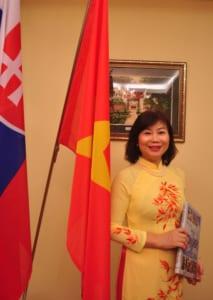 Mrs Ho Dac Minh Nguyet, Ambassador