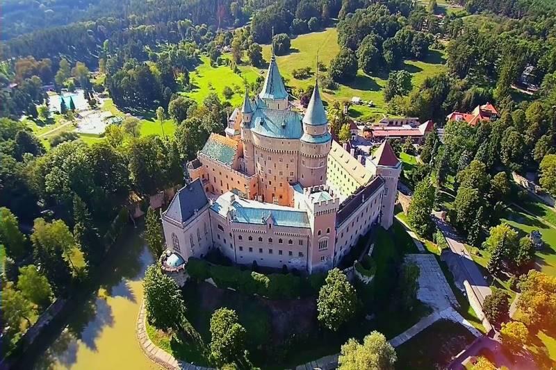 Đôi điều chưa biết về lâu đài Bojnice
