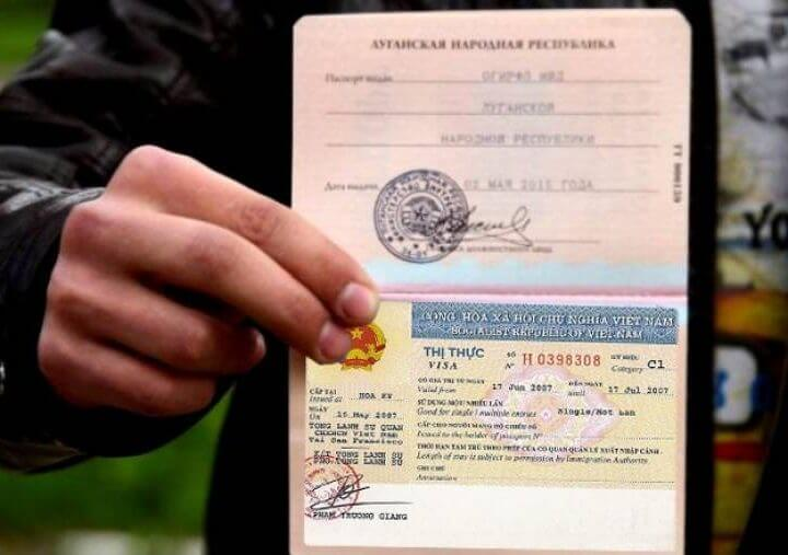 Download Vietnam visa application form for Slovak citizens