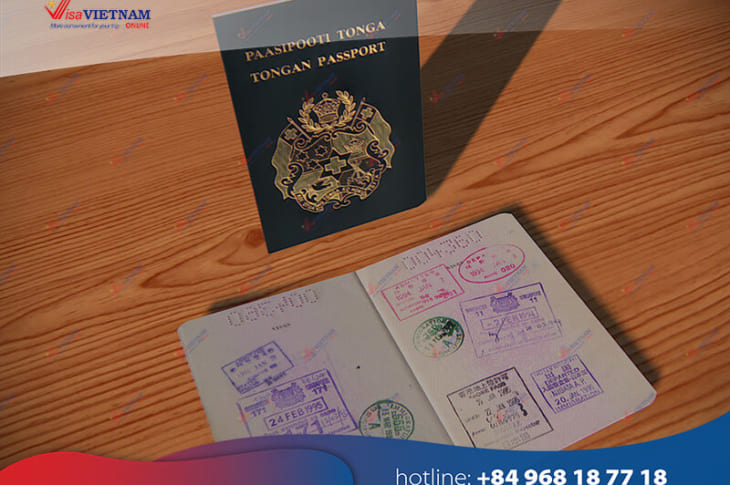 How to apply for Vietnam visa on Arrival in Tonga?