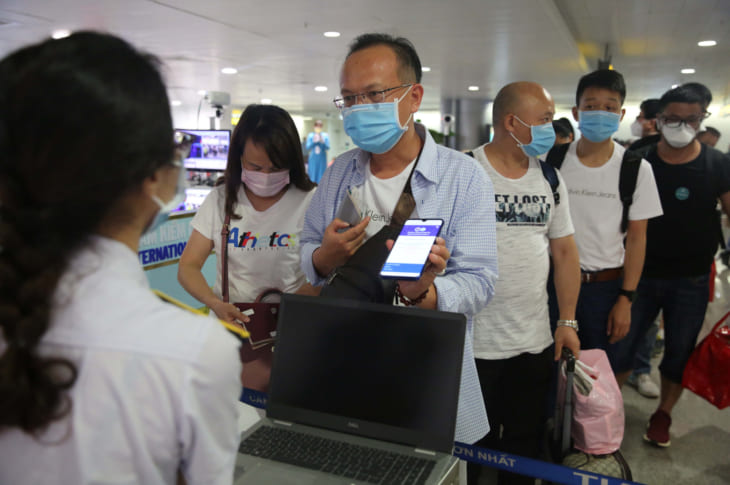 Khai báo y tế tại sân bay