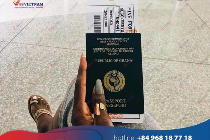Guideline for foreigners to get Vietnam visa from Ghana
