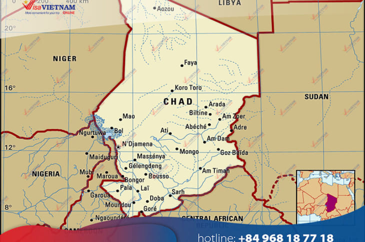 How to get Vietnam visa from Chad? - Visa Vietnam au Tchad