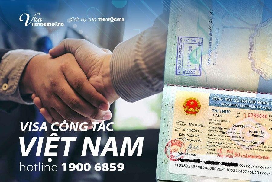 visa công tác Việt Nam