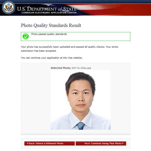 điền đơn DS-160 xin visa Mỹ