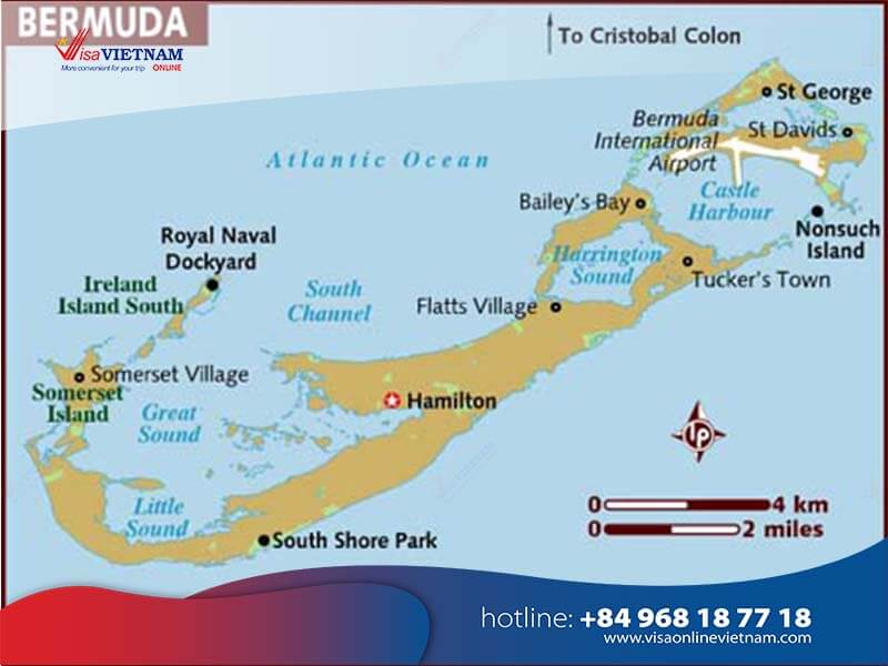 How to get Vietnam visa from Bermuda within a few minutes?