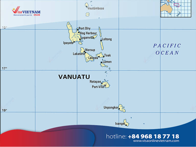 How to get Vietnam visa from Vanuatu? - Vanuatudagi Vetnam vizasi